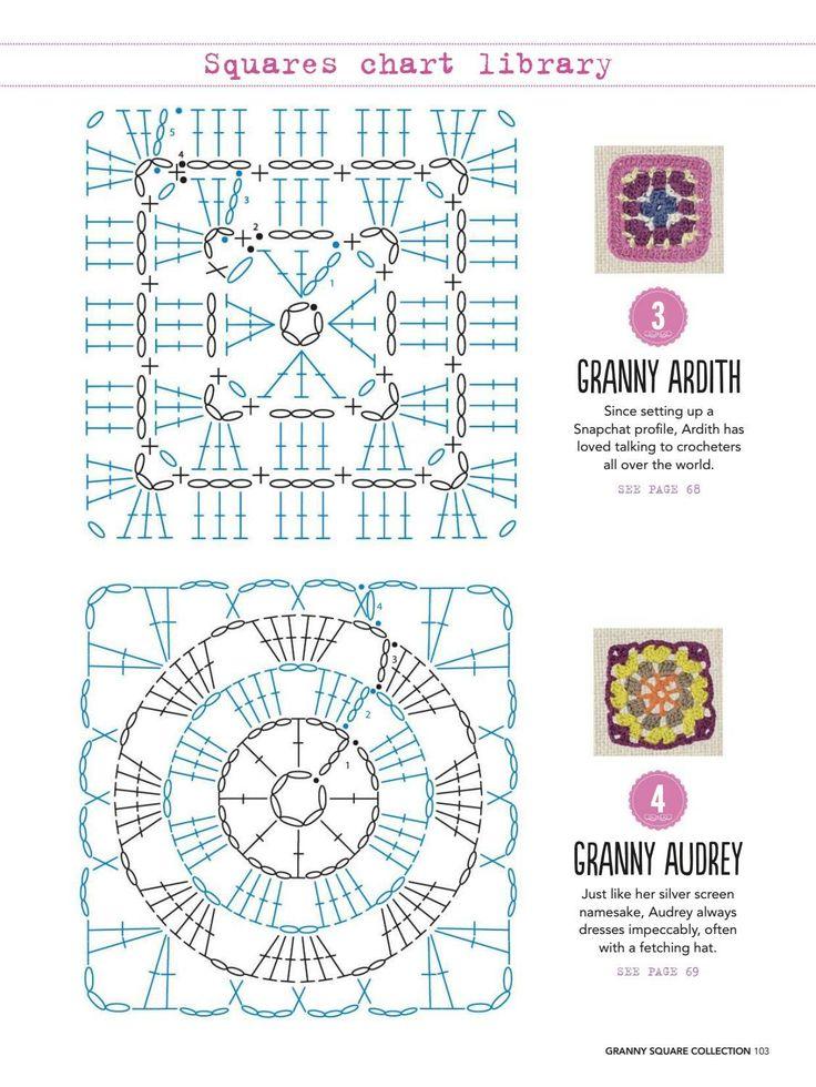 3630 best images about crochet motifs granny squares on. Black Bedroom Furniture Sets. Home Design Ideas