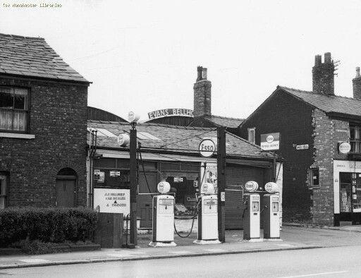 petrol station on oldham road newton heath manchester. Black Bedroom Furniture Sets. Home Design Ideas