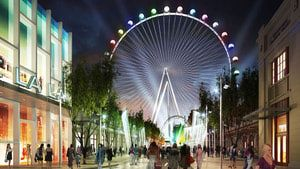 Las Vegas's High Roller Ferris Wheel!