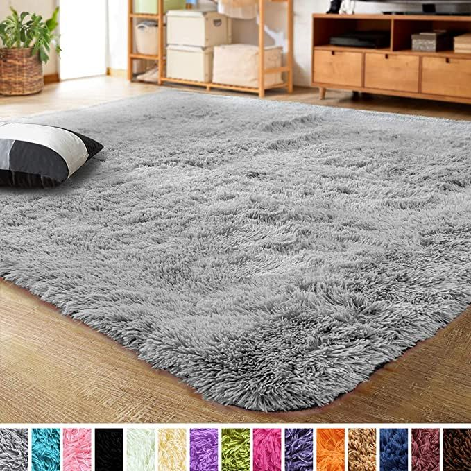 Amazon Com Lochas Ultra Soft Indoor Modern Area Rugs Fluffy Living Room Carpets For Children Bedroom Home Dec In 2020 Living Room Carpet Rugs In Living Room Cool Rugs #soft #area #rug #for #living #room