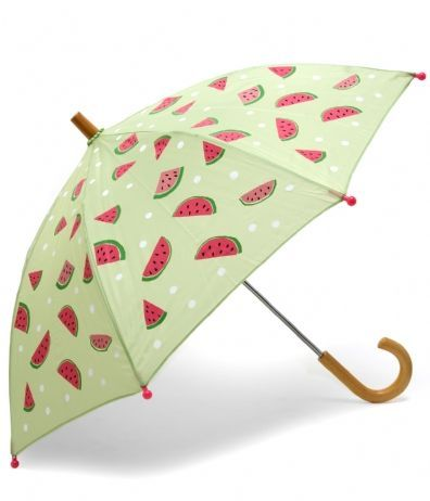 watermelon umbrella ^ Hatley kids umbrella   http://kids-coupons.blogspot.com/2010/07/kids-umbrellas-provide-kids-delightful.html