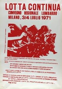 Convegno regionale lombardo 3-4 luglio 1971, supplemento a Lotta Continua.