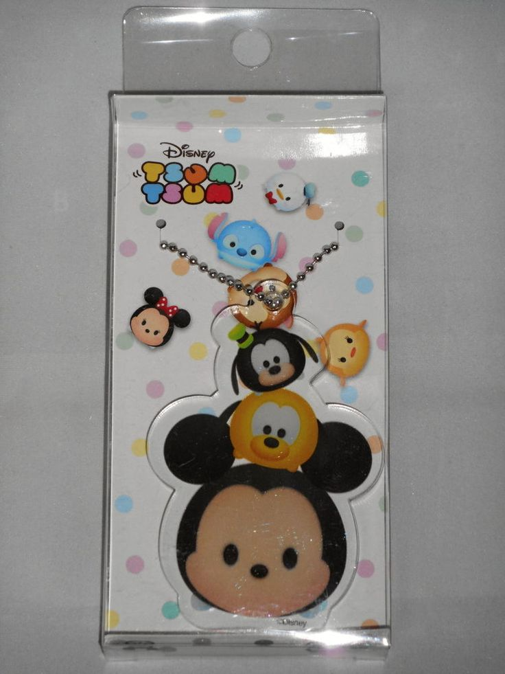 Disney Tsum Tsum Acrylic Key Chain (Mickey) Runa Japan