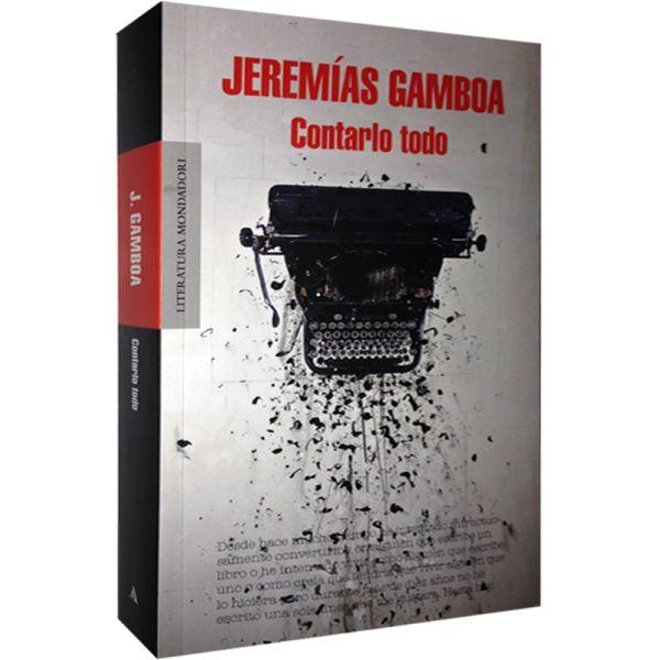 """Jeremías Gamboa presentó su última novela: """"Contra todo"""""""