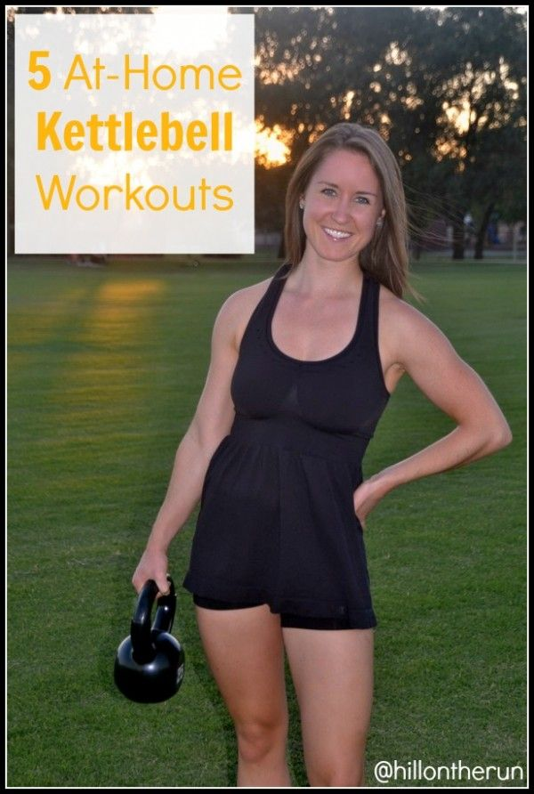 5 At-Home Kettlebell Workouts