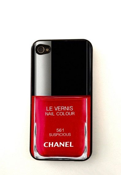 CHANEL iphone case iPhone 4 / 4S Case, iPhone 5 Case,s. $9.99, via Etsy.