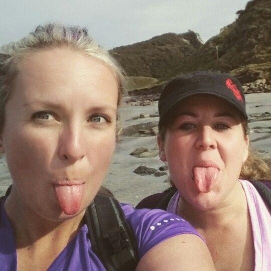 Cooks cove hike awesome walk with the best mate @heidigeihe