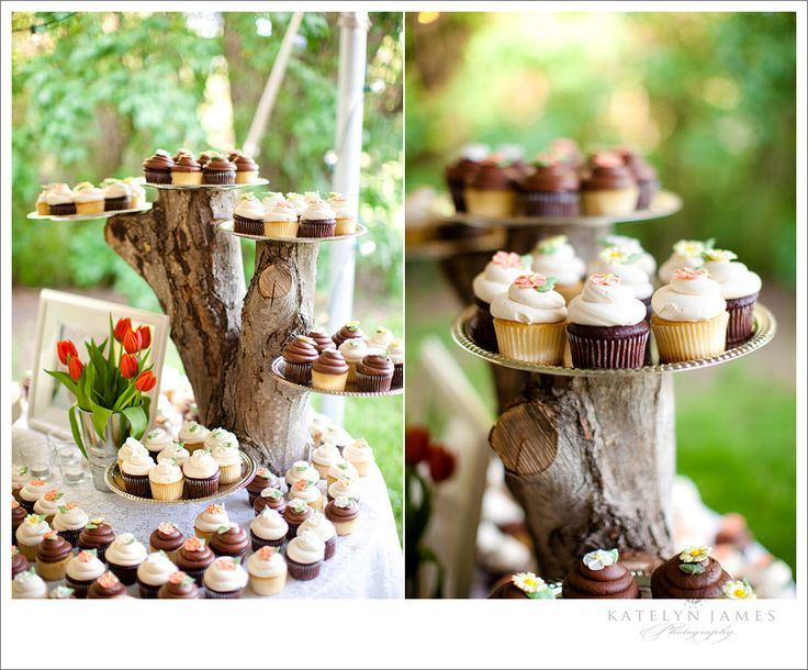 love the cupcake display!