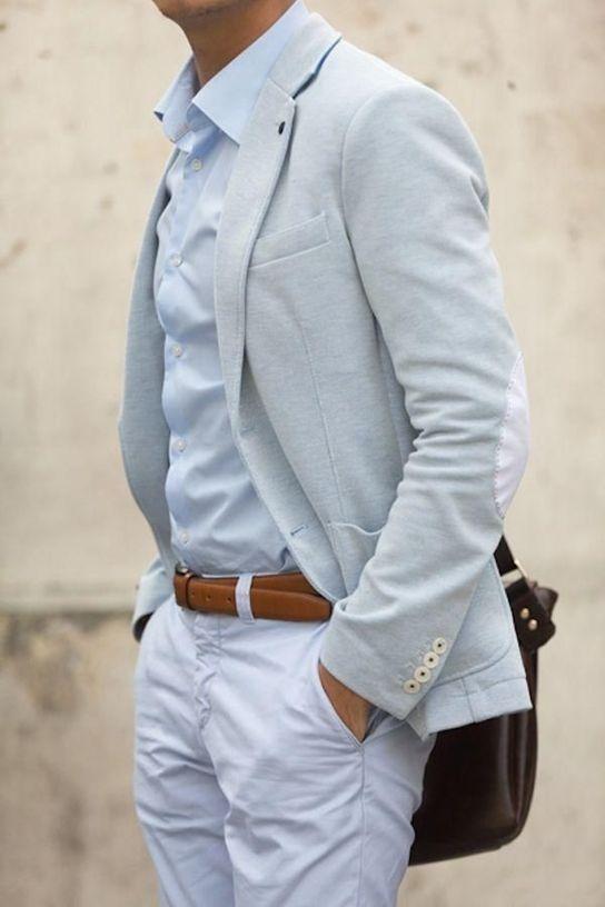 Ideas para vestir con traje en verano http://www.lemaniqui.com/ideas-para-vestir-con-trajes-de-hombre-en-verano/