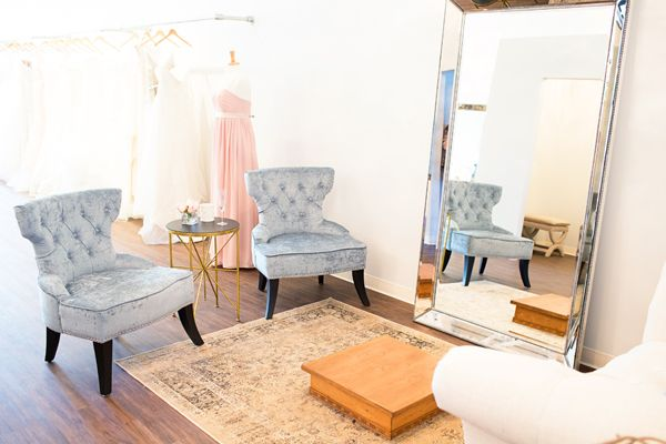 Project: Bella Lily Bridal in Glendale, AZ / bridal boutique interior design