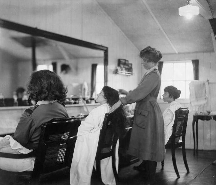 Salon de coiffure retro id es de d coration - Salon de coiffure sens ...