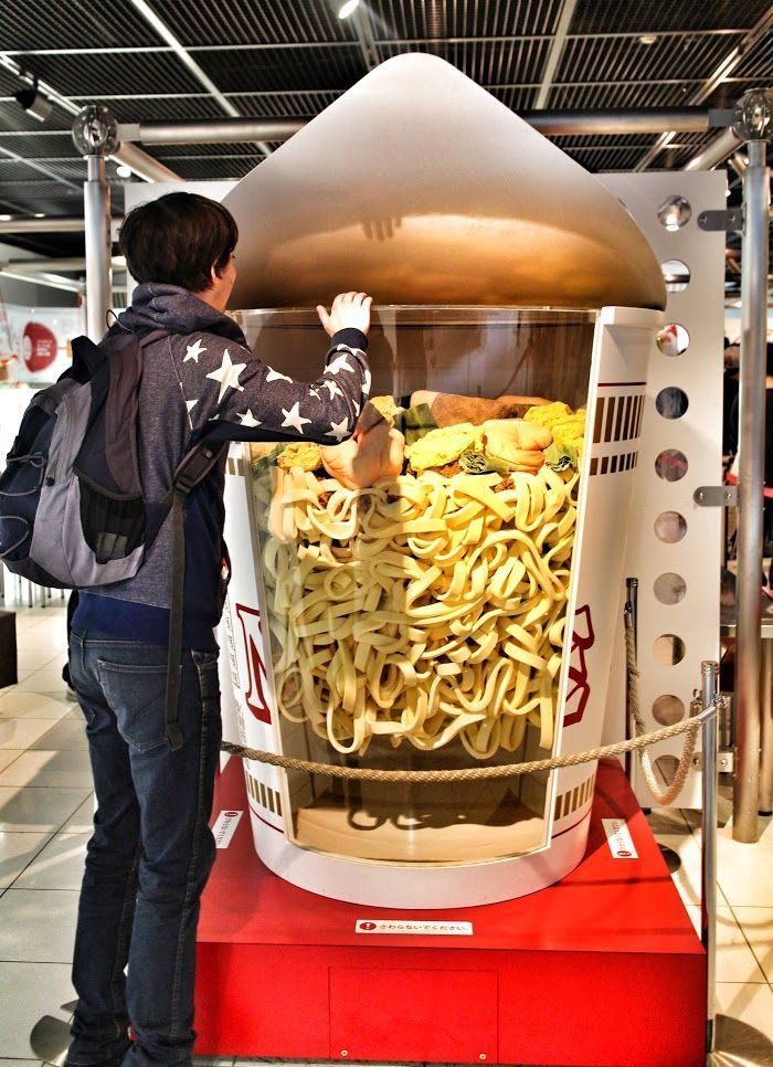 Make your own ramen at the Nissin Instant Ramen Museum in #Osaka #Japan #Travel