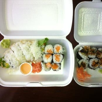 Photo of Ko-Doraku - Halifax, NS, Canada. Good sushi- same quality as Sushi Nami for half the price.