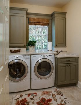 Harness Creek Kitchen Renovation traditional-laundry-room
