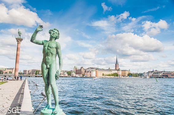 Vista De Gamla Stan Desde El Ayuntamiento Estocolmo Estocolmo Viajes Suecia