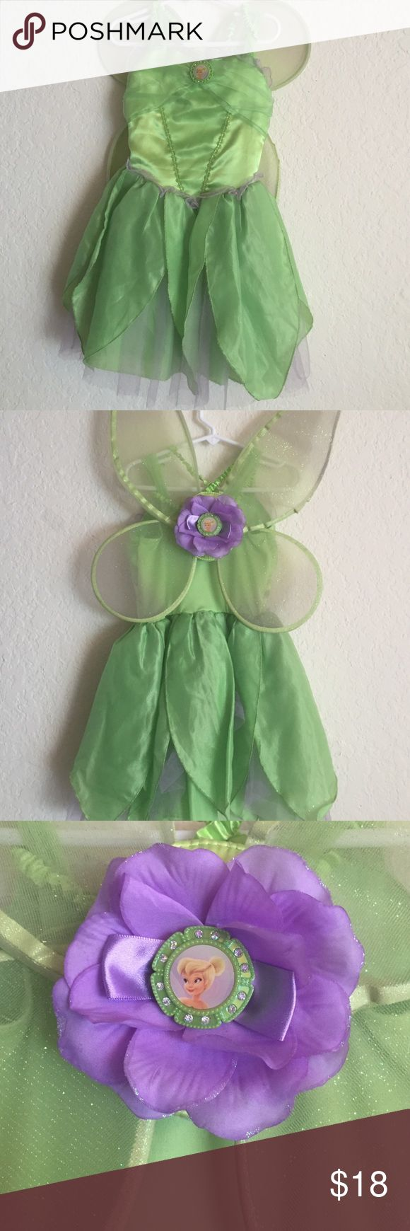 Adorable 5/6T Tinkerbell costume Very cute Tinkerbell 5/6 toddlers costume, very cute & well kept ! Disney store Costumes Halloween