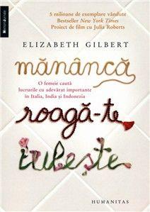 Mananca, Roaga-te, Iubeste de Elizabeth Gilbert editie 2008