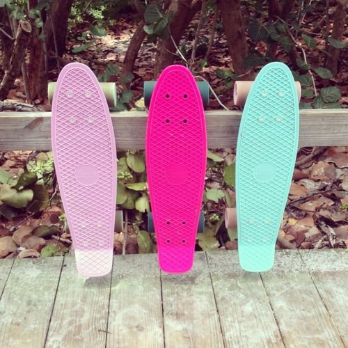 if i where to get a penny board, it would be the right one or the middle one<3