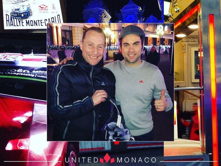United Monaco a rencontré la légende Jean-Pierre Papin!!! Bravo et merci Champion  Bon Rallye à tous et que le meilleur gagne!!! #UnitedMonaco #foot #jpp #rallydemontecarlo2016 #montecarlo #monaco #instagood #frenchriviera #course #legende #om #newbrand #nevergiveup #lapapinade #ligue1 #moi #cotedazur #monacodreamcity #unitedmonacotouch