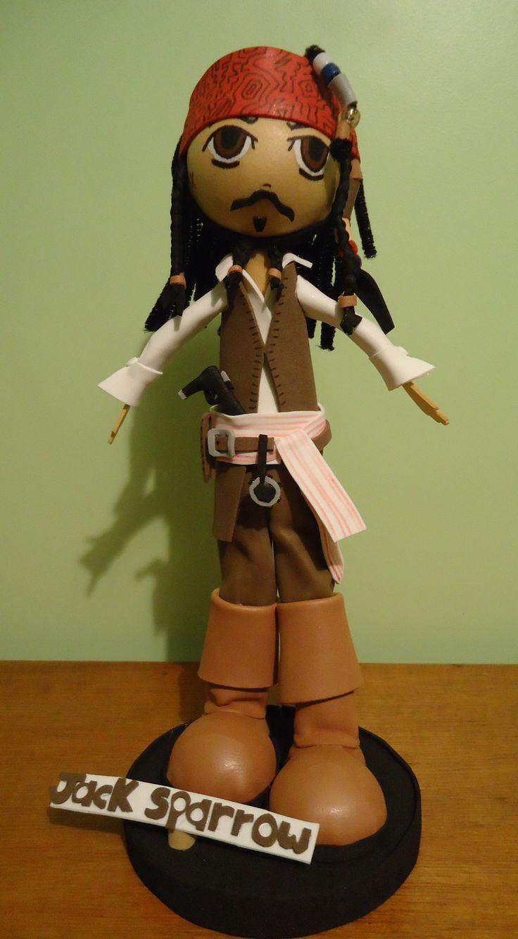 El pirata Jack Sparrow!!!!!
