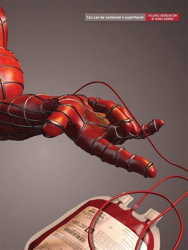 Be someone's superhero...