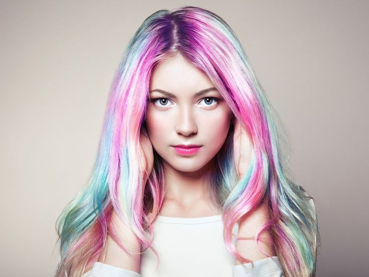 Rainbow Dyed Hair, Dyed Hair Pastel, Buy Hair Extensions, Braids With Extensions, Pelo Multicolor, Pixie, How To Grow Your Hair Faster, Castor Oil For Hair, Hair Remedies For Growth