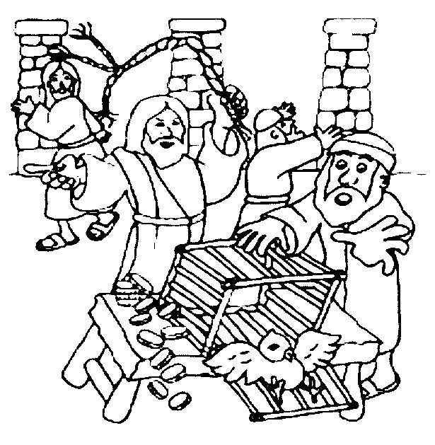 coloring pages jesus temple - photo#26