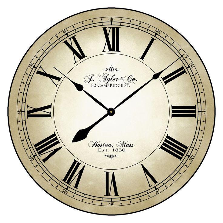 29 best Wedding Clocks images on Pinterest Large wall clocks