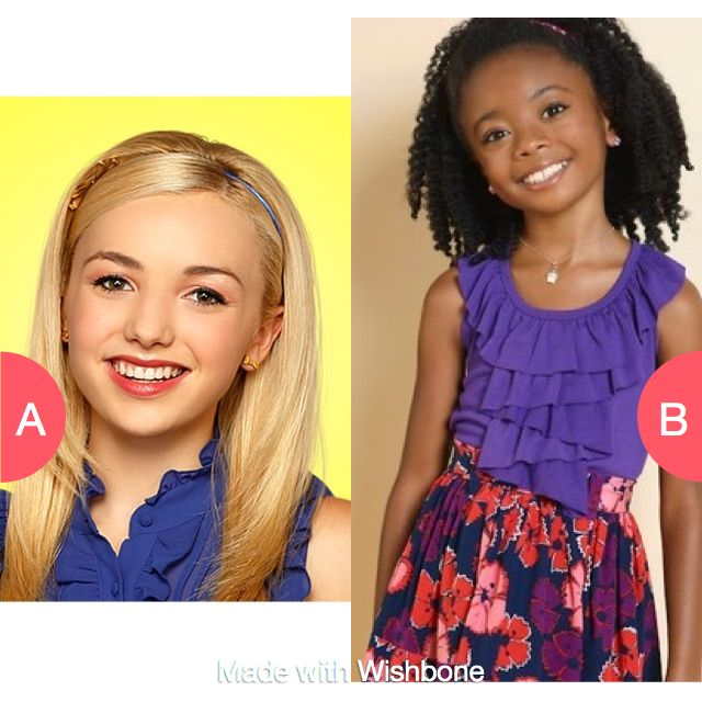 Emma Ross from Jessie or Zuri Ross from Jessie? Click here to vote @ http://getwishboneapp.com/share/26174341