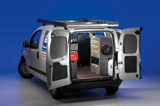 Modello di Officina Mobile Store Van per Peugeot Bipper