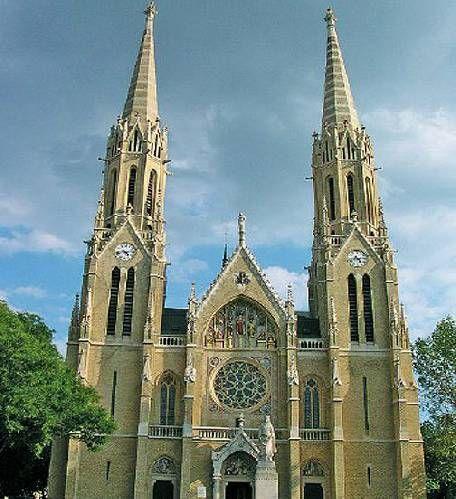 Árpádházi Szent Erzsébet római katolikus plébániatemplom Steindl Imre egyik fő műve.
