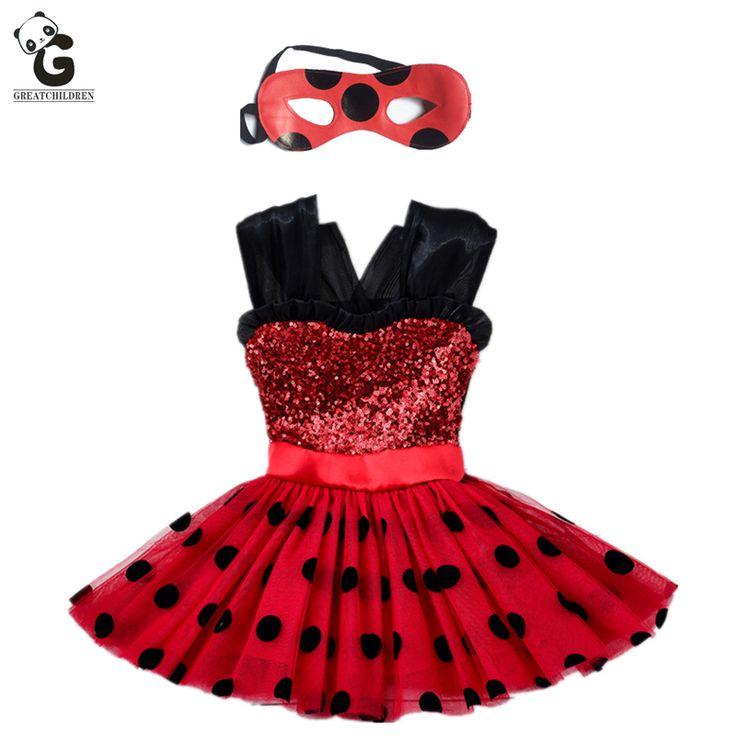 $4.99 (Buy here: https://alitems.com/g/1e8d114494ebda23ff8b16525dc3e8/?i=5&ulp=https%3A%2F%2Fwww.aliexpress.com%2Fitem%2FMiraculous-Ladybug-Girls-Dresses-Kids-Flash-Dress-For-Girls-Mask-Cosplay-Costume-Halloween-Girls-Ladybug-Marinette%2F32794899290.html ) Miraculous Girls Dress Kids Flash Dress for Girl Mask Cosplay Costumes Halloween Red Ladybug Marinette Bobo Choses Child Clothes for just $4.99
