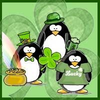 14 best jen penguinality penguins images on pinterest penguin st patricks day penguins gifts and goodies by jen goode negle Image collections