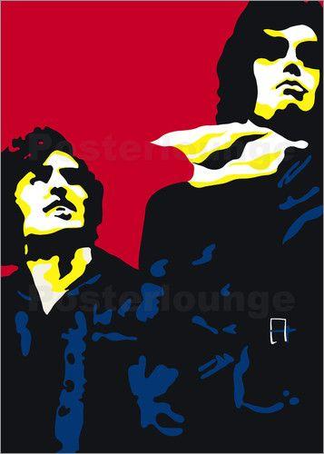 Schöne Schurken, Neo Pop Art: Poster & Kunstdruck von JASMIN!