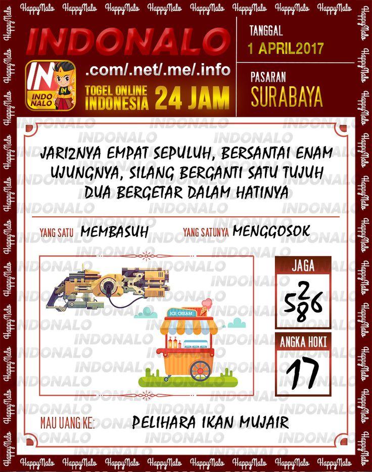 Angka JP 4D Togel Wap Online Indonalo Surabaya 1 April 2017