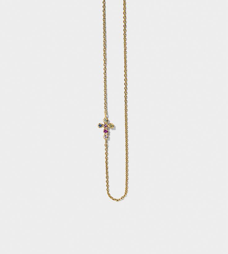 LINE&JO - Miss Gold Nete Necklace