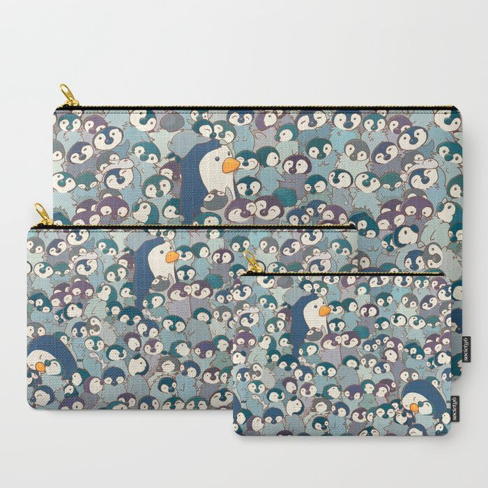 Buy Baby Penguin Pattern Carry-All Pouch by strijkdesign. Worldwide shipping available at Society6.com. Just one of millions of high quality products available.