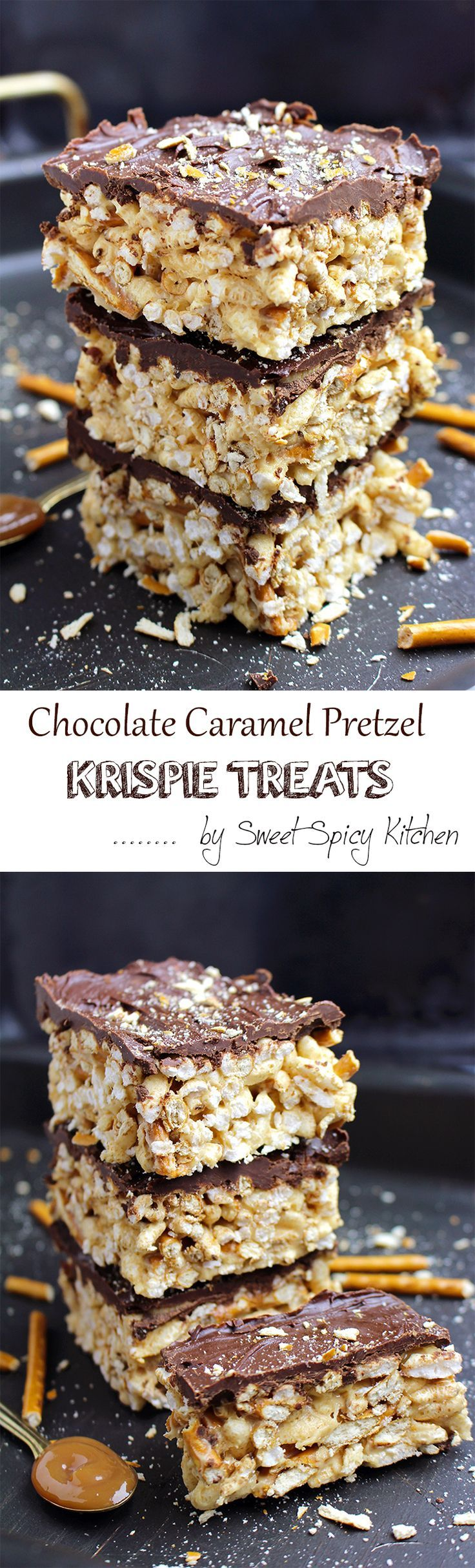 Time for snack?  Looking for a quick and delicious meal? Chocolate Caramel Pretzel Krispie Treats is just what you need.. Delicious brunch recipe perfect for busy days.. Crunchy crispy rice and pretzels combined with melted marshmallow and caramel sauce, coated in chocolate… mmmm  yummy… I really love this quick and easy combination. It takes only 10 minutes...Read More »