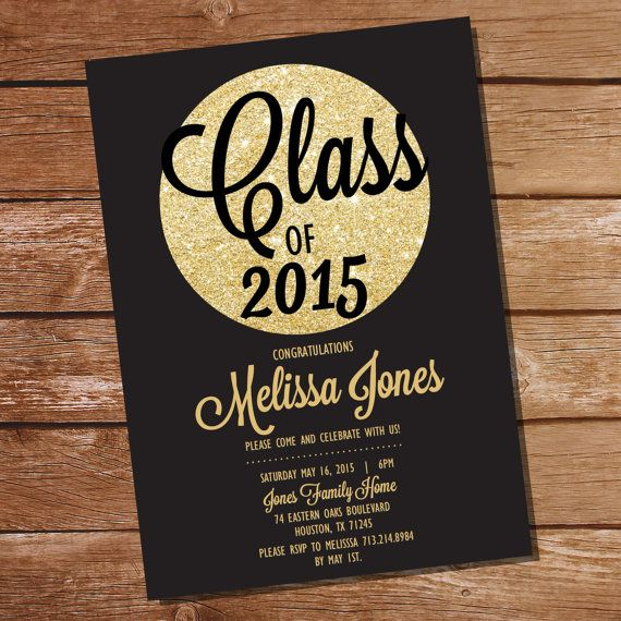 Best 25 Graduation invitations ideas – Graduation Dinner Invitations
