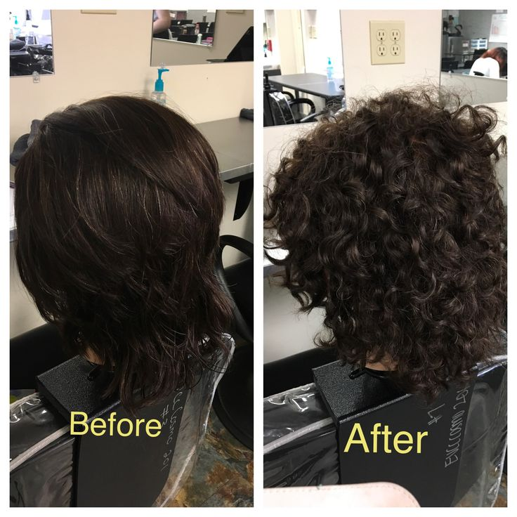 Real perm before after using full body per solution. #