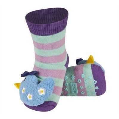 BABY RATTLE SOCKS 'SOXO' LARGE - HEN WITH ABS    #MamaFashionMe - Aussie Online Store with Beautiful Accessories for Girls + Some for Boys