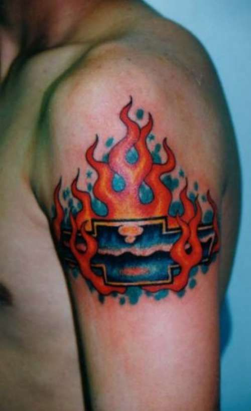 17 best images about chevy tattoo ideas on pinterest for Chevy bowtie tattoos