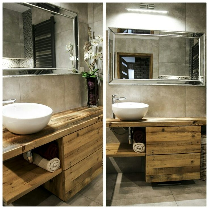 7 best meuble de salle de bain en vieux bois altholz badm bel images on pinterest bathroom. Black Bedroom Furniture Sets. Home Design Ideas