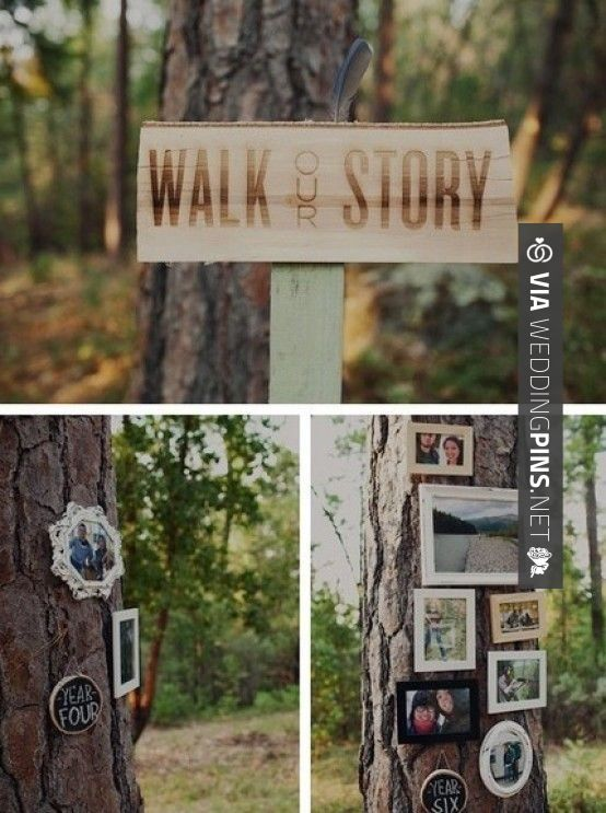 Amazing! - 10 DIY Photo ideas for your wedding decor and details