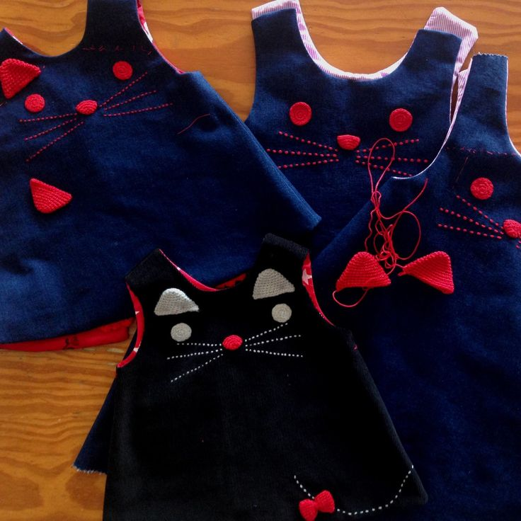 Cats, cats, cats.... dresses almost ready!  #catdress #girlsclothing