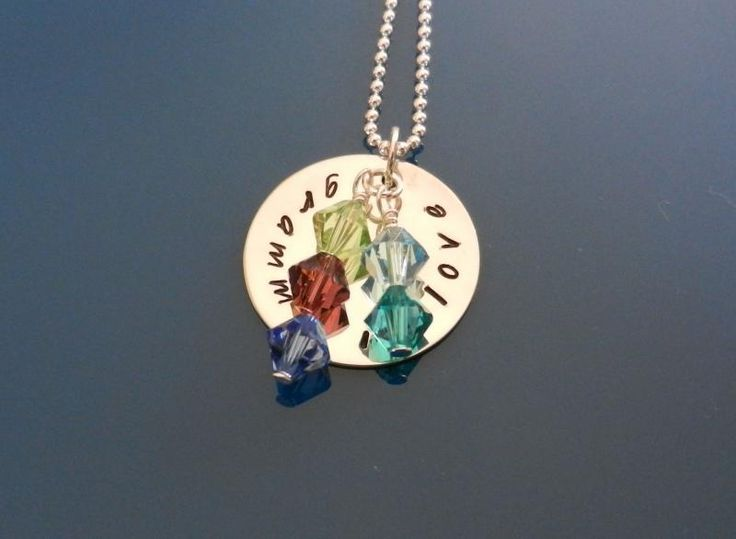 NOVEMBER Charm Swarovski Element Crystals Handmade Charms by LuxePersonalizedJewelry on Zibbet