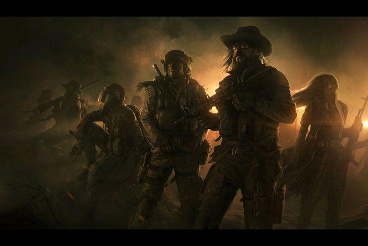Wasteland 2   Desert Rangers by *AndreeWallin on deviantART