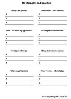 151 best Therapy worksheets images on Pinterest | Cognitive ...