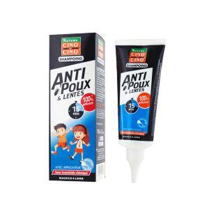 powersante cinq sur cinq shampooing anti-poux peigne, 100ml