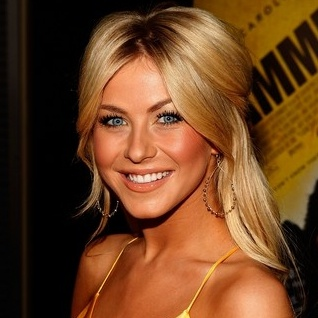 -- Julianne Hough... love the character she plays in Footloose...ultimate personality...